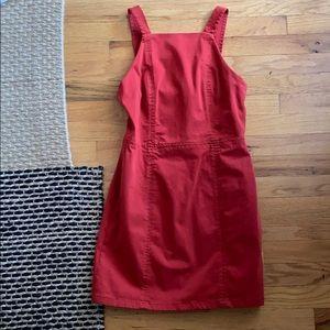 ZARA burnt orange/ red summer dress NWT